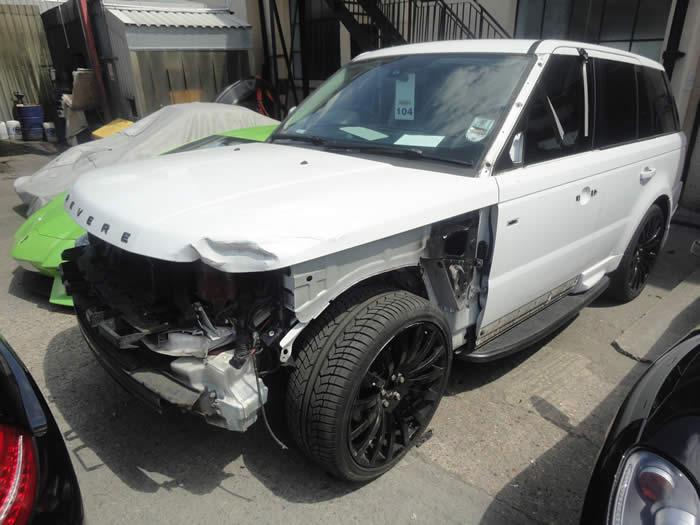 range rover accident repair