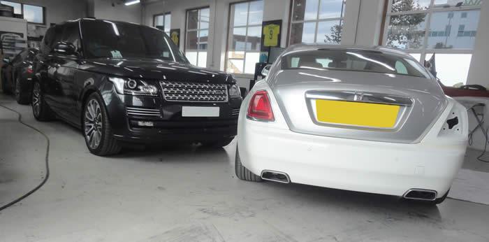 luxury car bodyshop