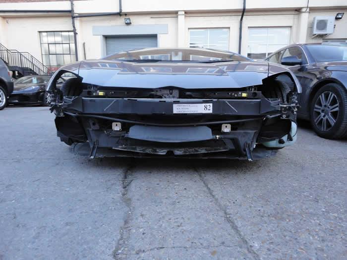 lamborghini accident repair