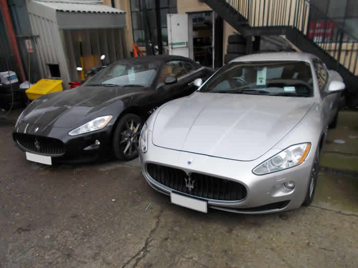 maserati dent repair in london
