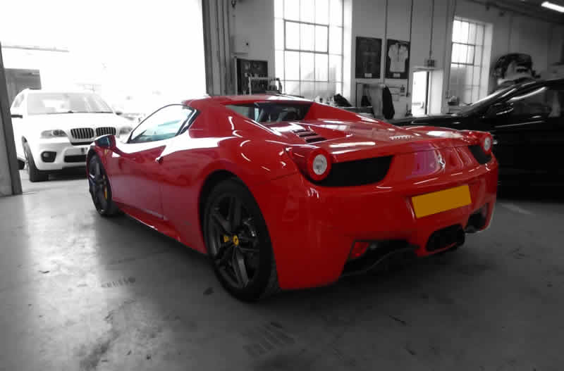 bodywork repair ferrari