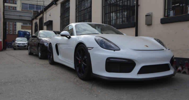 porsche bumper repair london