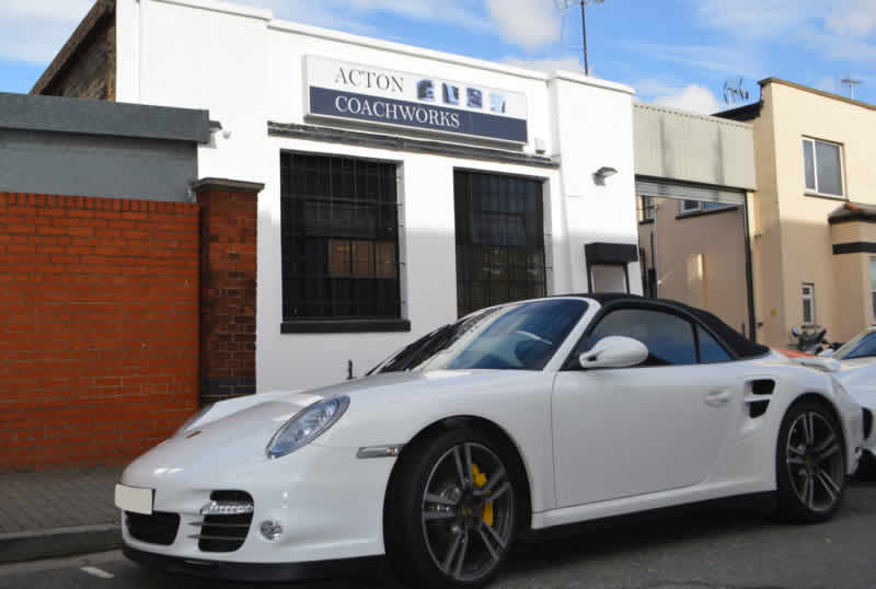 porsche scratch repair in london