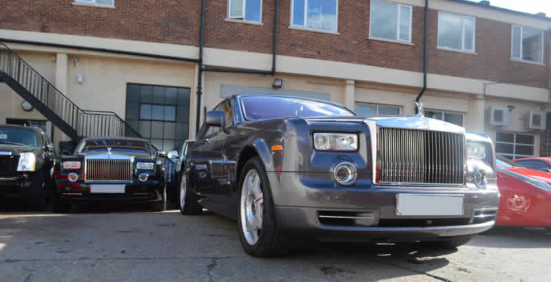 approved rolls royce bodyshop