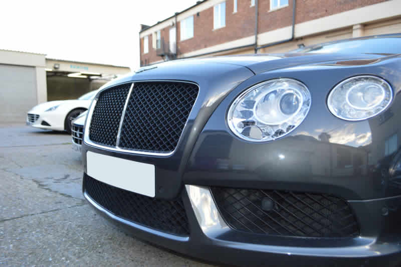 bentley paint damage repair