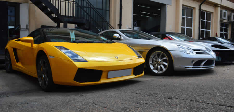 supercar scratch repair london