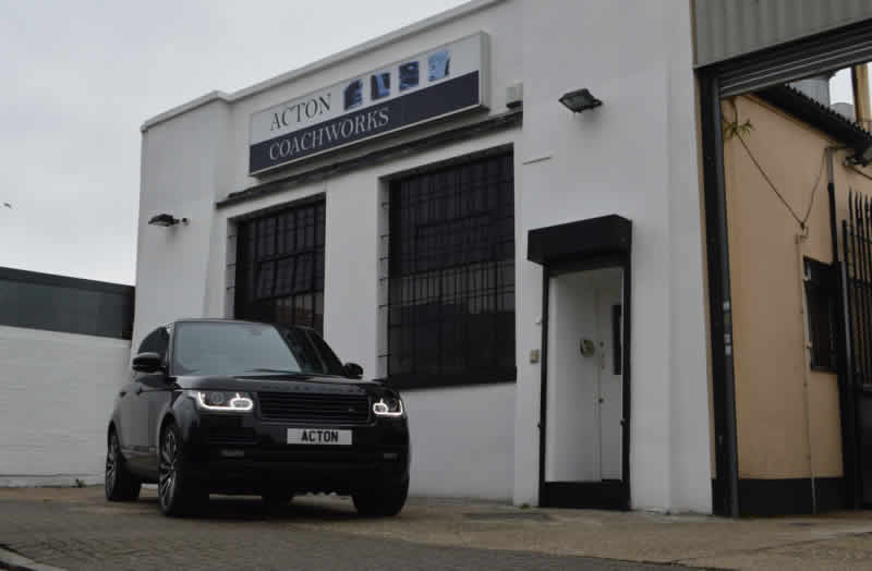 range rover bodyshop in london