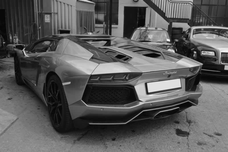 lamborghini accident repair