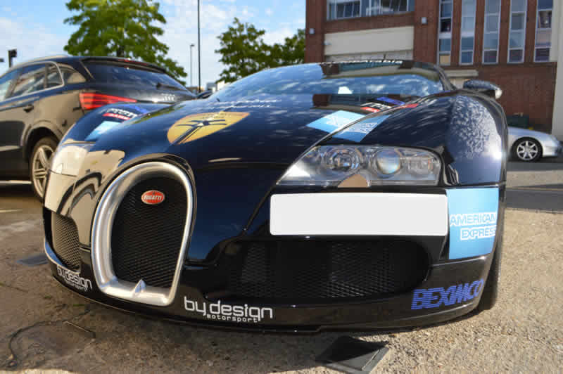 bugatti bodyshop in london