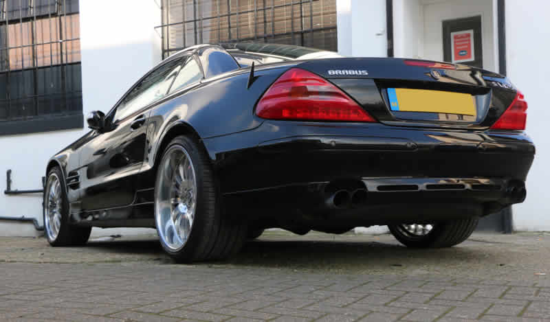 mercedes sl bodywork repair
