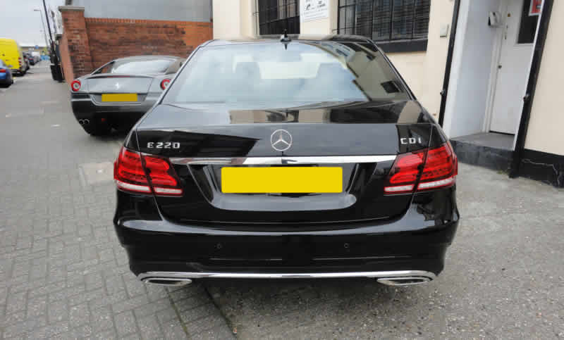 mercedes bumper repair in london
