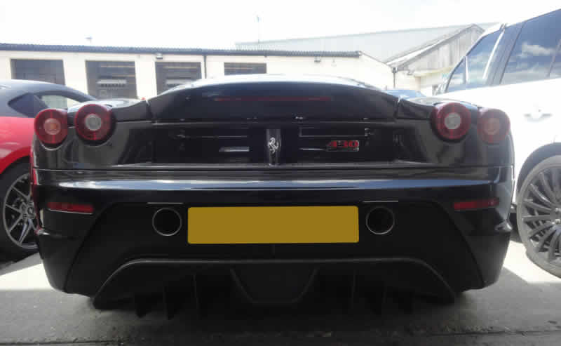 ferrari scratch damage repair