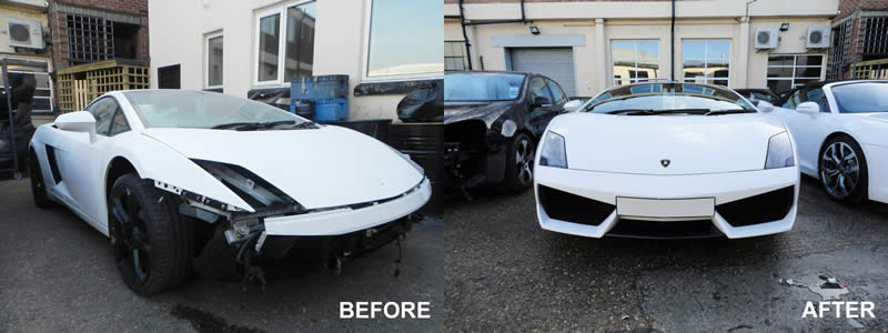 lamborghini bodyshop london