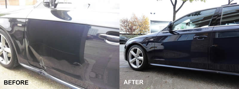Audi Approved Bodyshop London