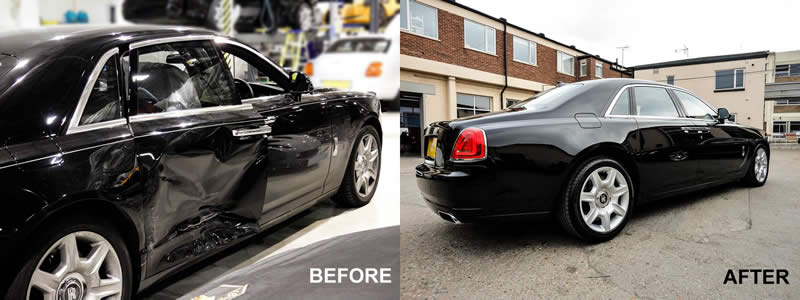 Rolls Royce Accident Repair