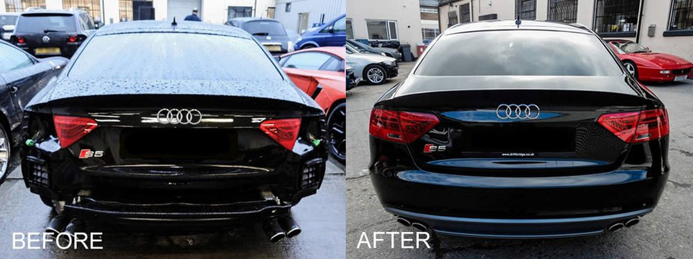 Audi damage repair