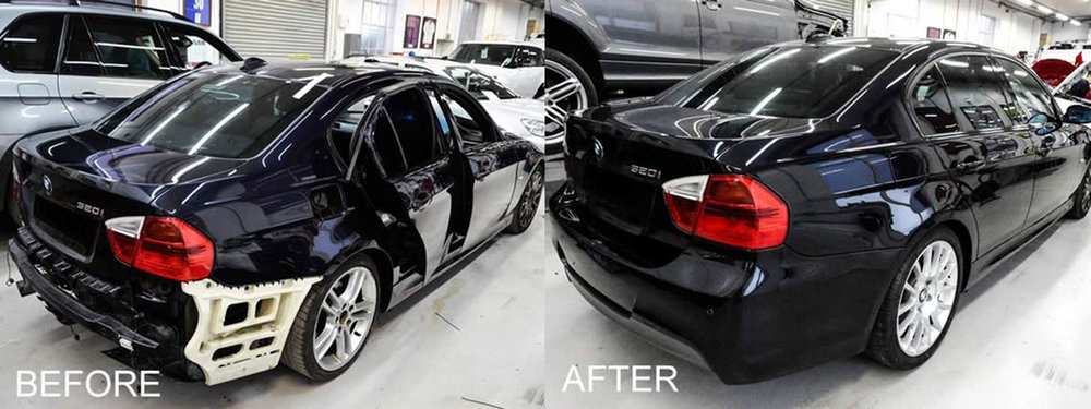 BMW scratch repair