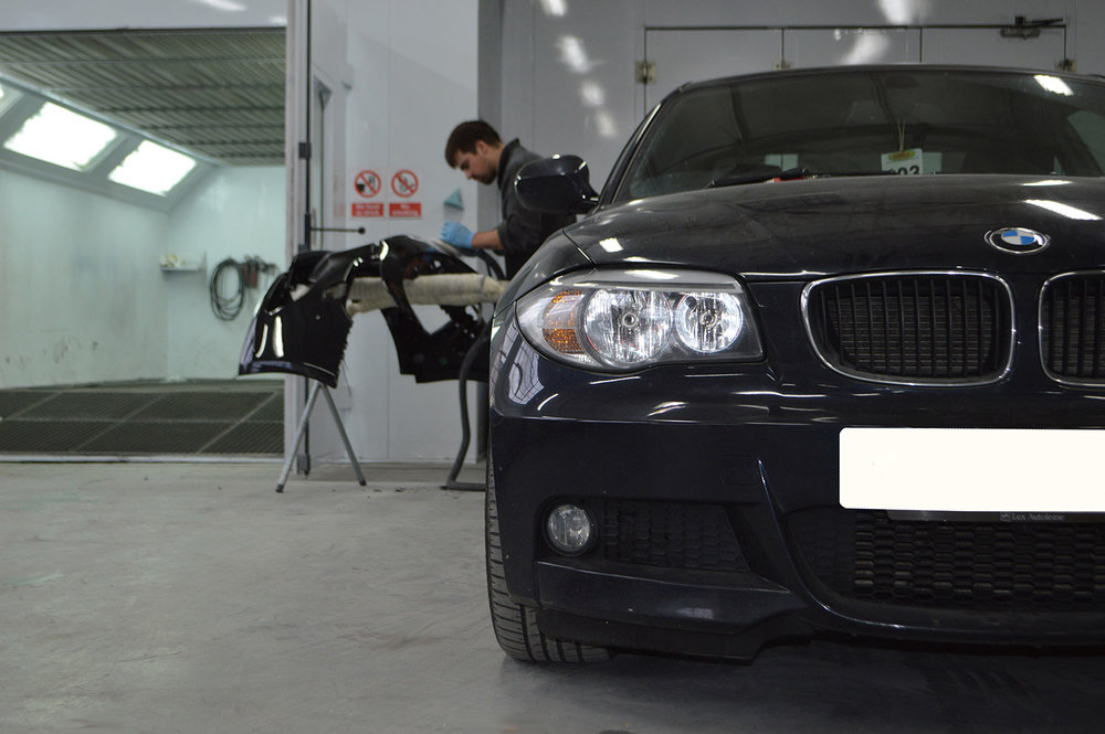 BMW crash repair