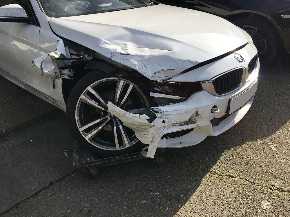 BMW accident repair