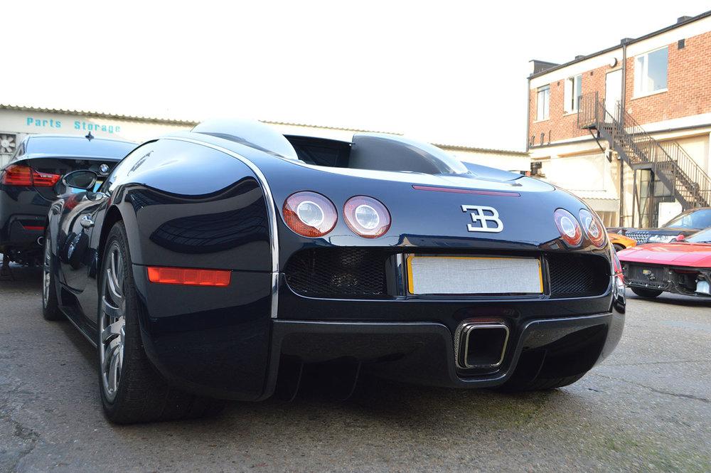Bugatti bodyshop