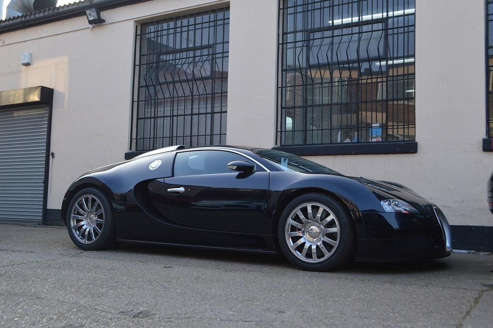 Bugatti bumper repair