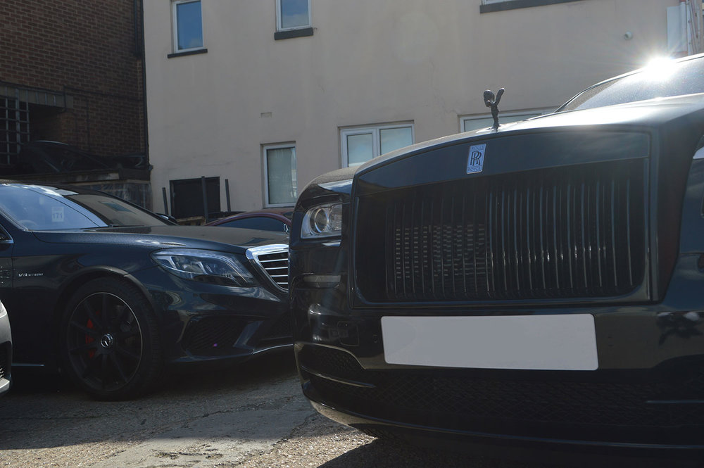 Rolls Royce bumper repair