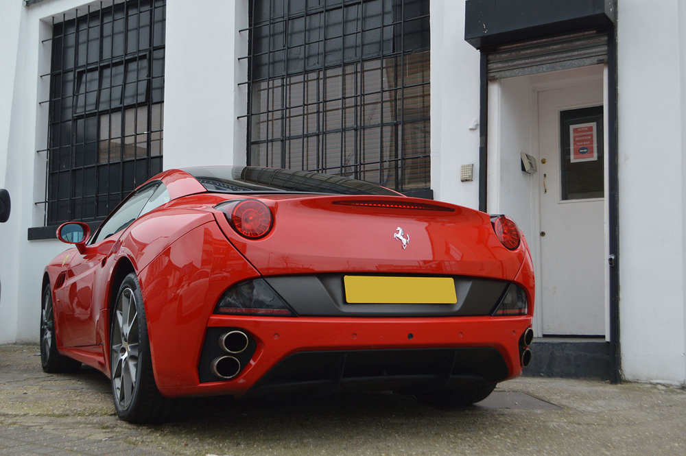 Ferrari bumper repair