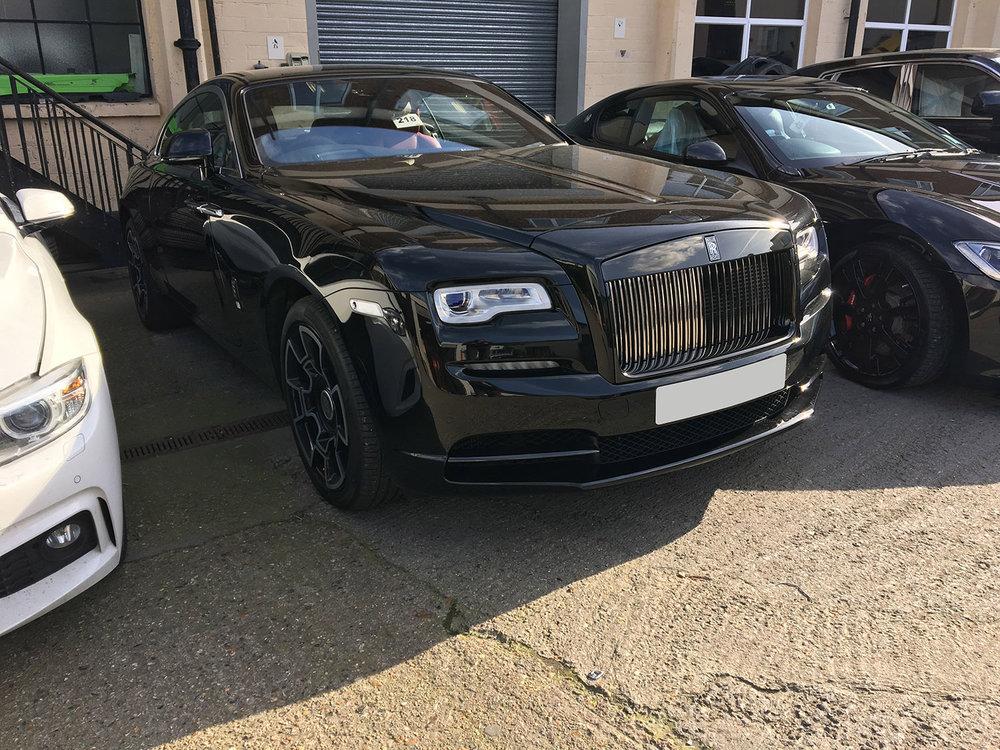 Rolls Royce dent repair