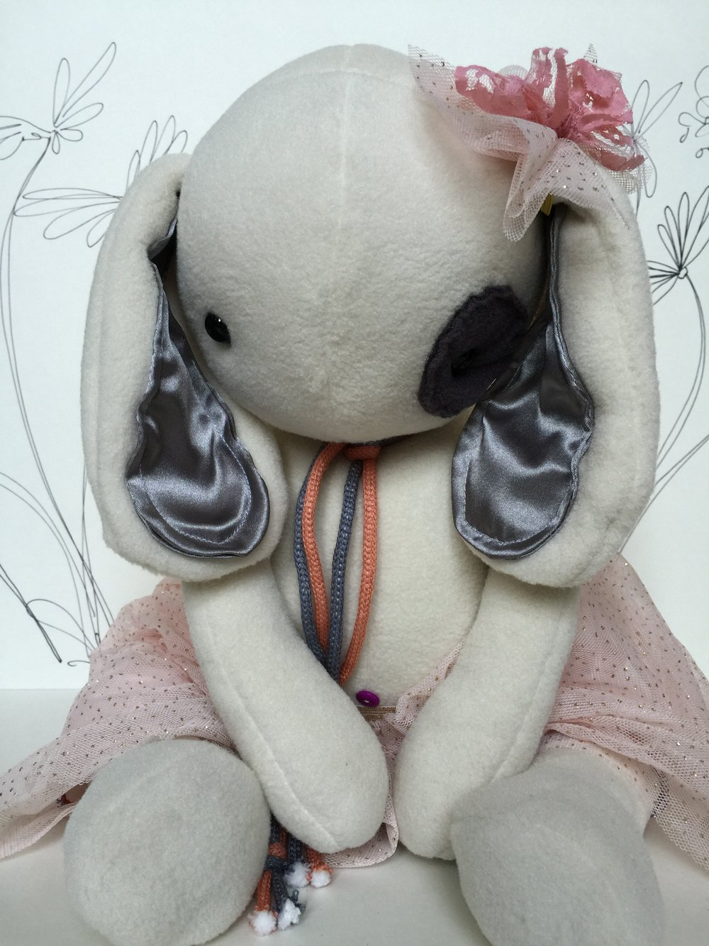 Plushie Weighted Bunny by The Professional Bohemians