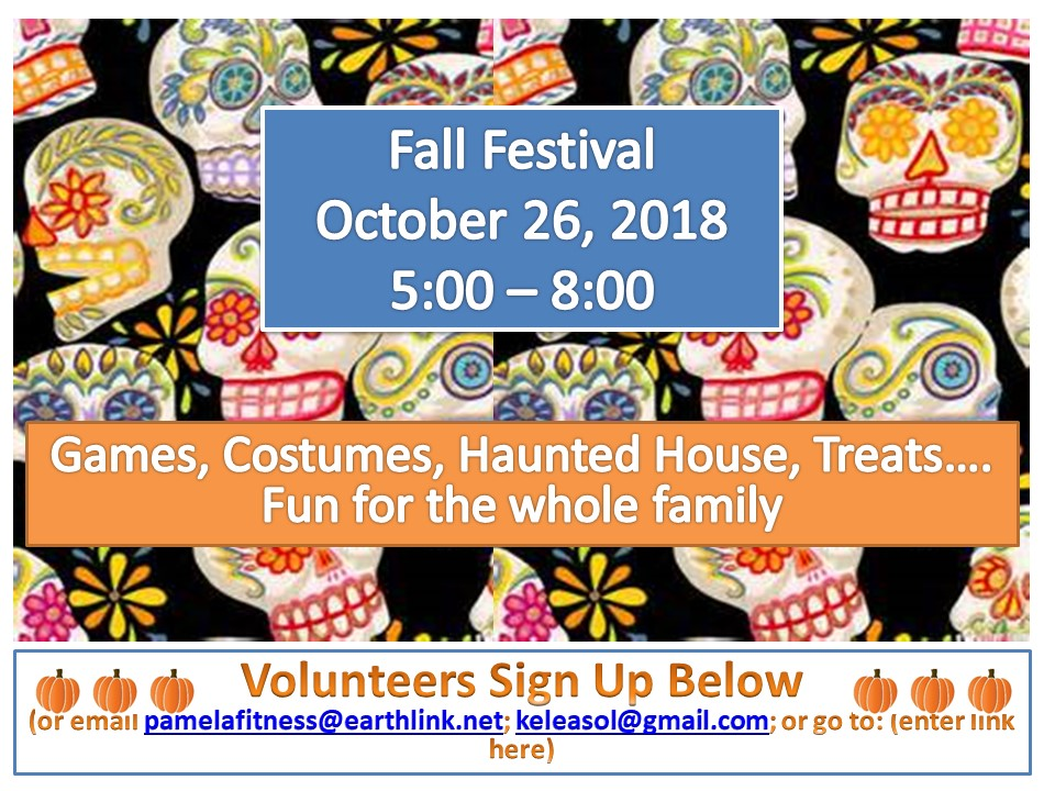Email:  Pamela Herzenberg ,  Kerrilyn Chew , or go to  Atalaya Fall Festival