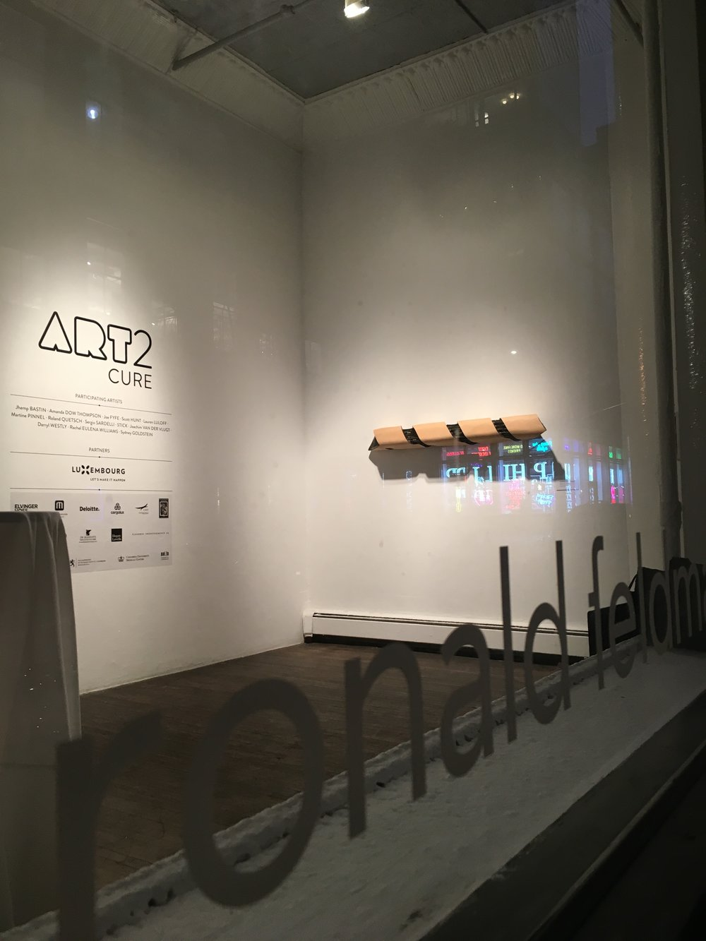 Art2Cure, Ronald Feldman Gallery, Soho, NYC - 2018