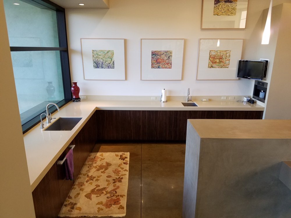 One of the beautiful kitchens that AAI Tile had the pleasure of refreshing!