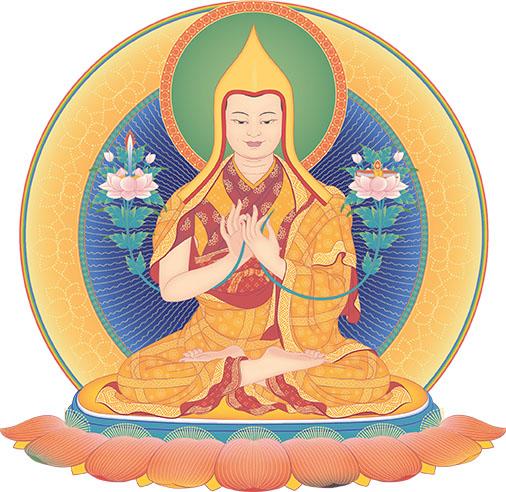 je_tsongkhapa_vajra_light.jpg