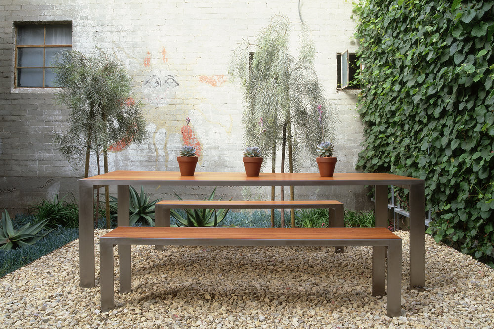Beautiful Glencoe Indoor/Outdoor Dining Bench