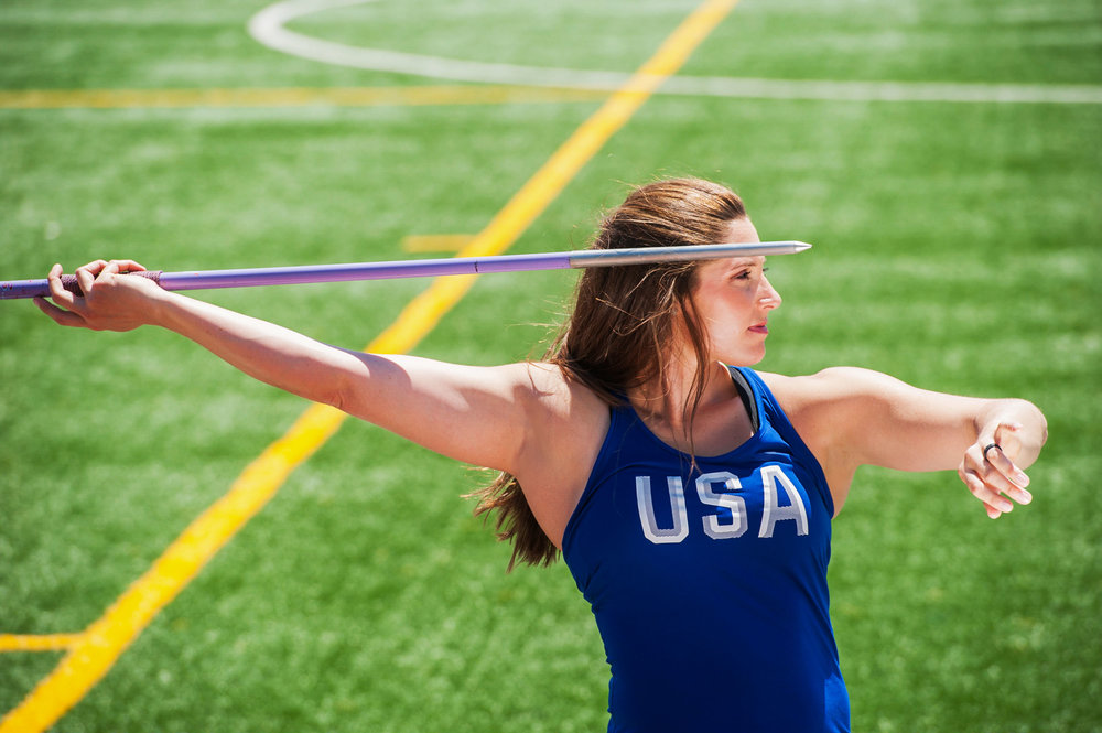 Kara Winger - 3x Olympian. Javelin Throw.