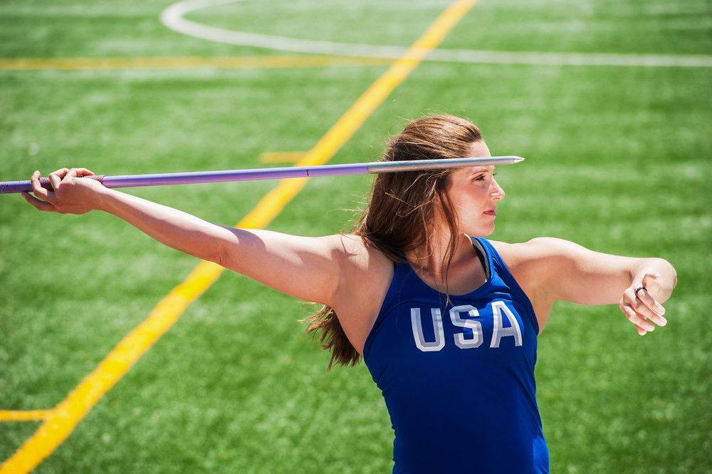 Kara Winger - 3x Olympian. Javelin Throw.