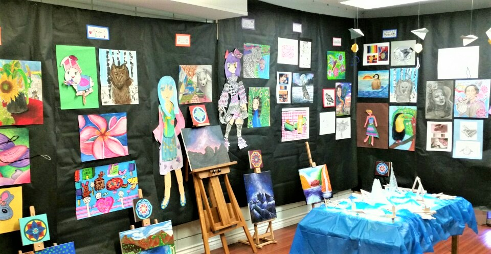 Little Da Vinci's 2016  Annual Art show!