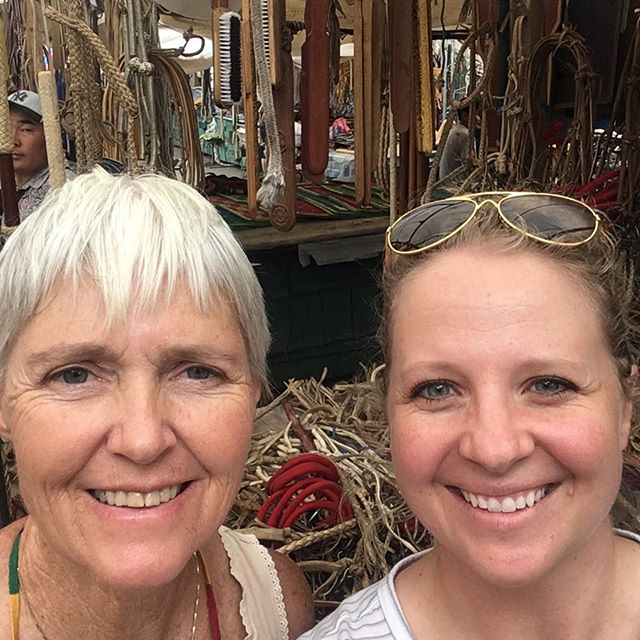 We made it to the Black Market and immediately found the section that sells amazing handmade rawhide bridles, halters, and carved wooden sweat scrapers for the horses.  #mongolderby2017 #mongolderby