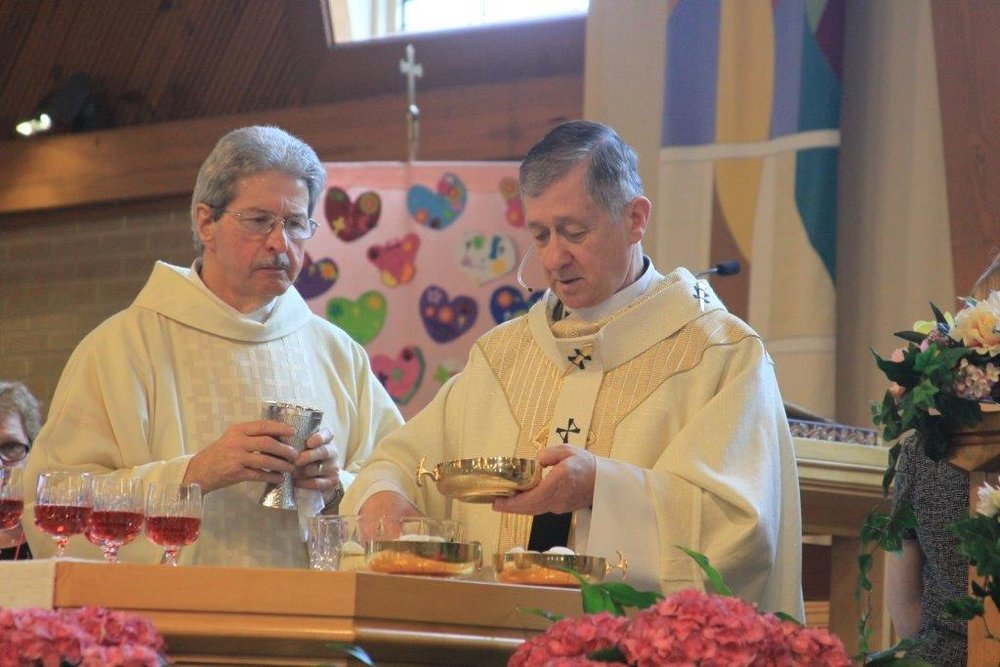 May 21, 2017   Cardinal Cupich at Mass