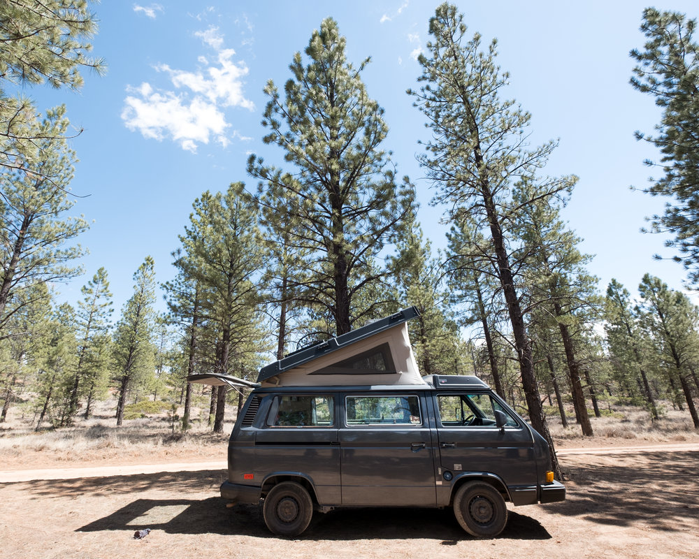 Campsite at Bryce Canyon