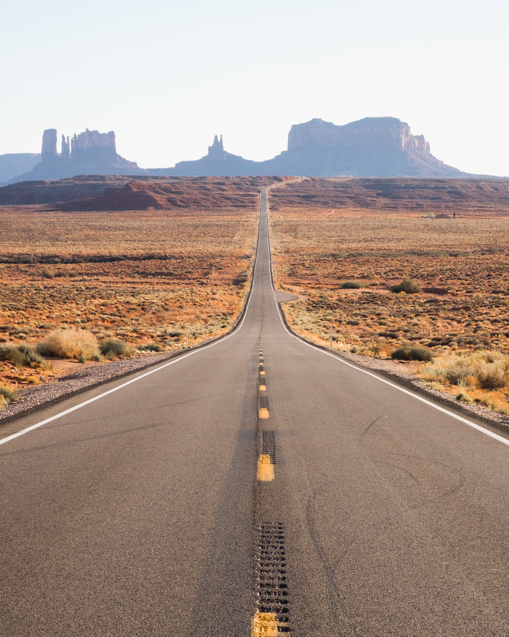 An iconic view, Monument Valley