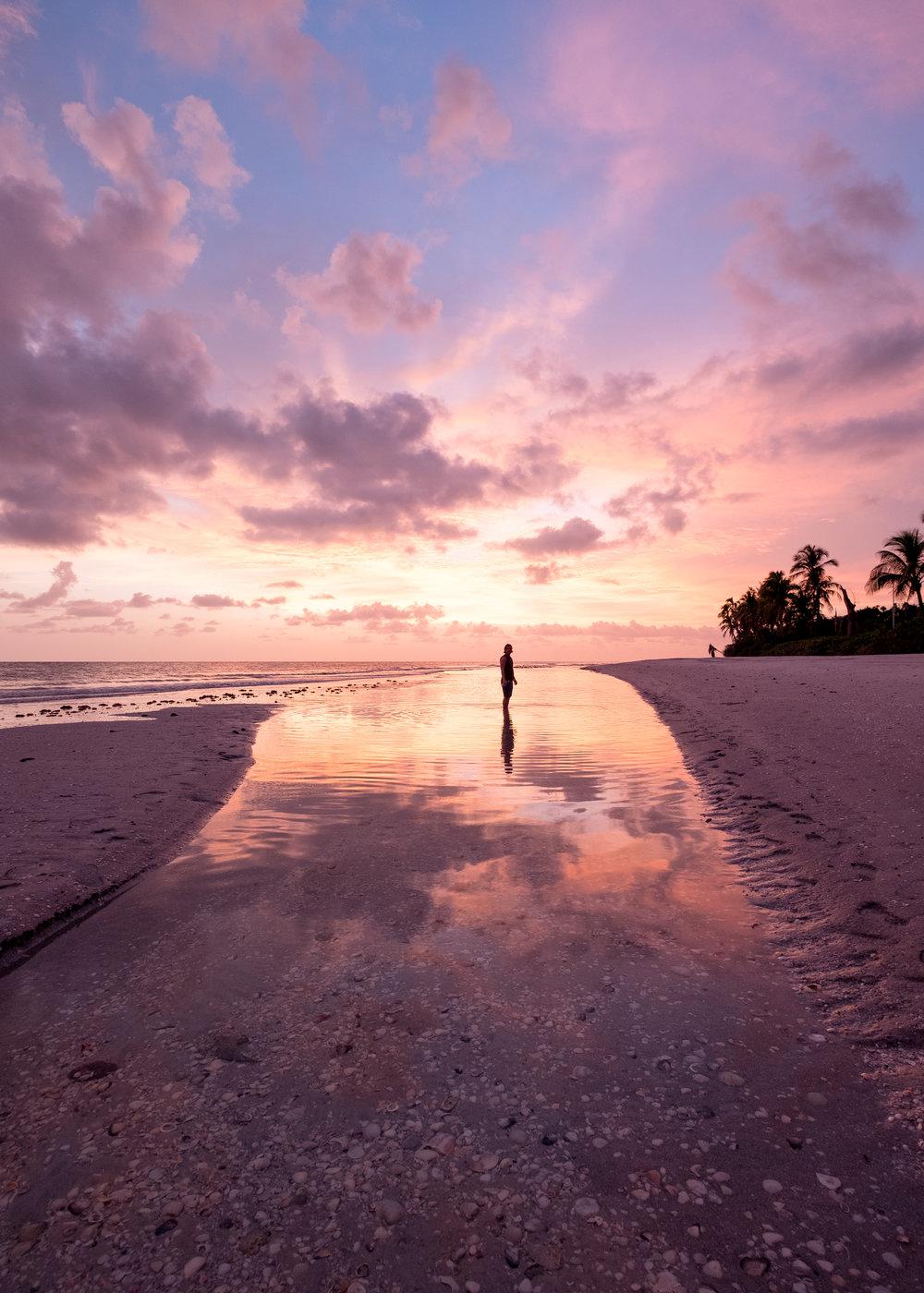 Sanibel island sunset katelin reeser