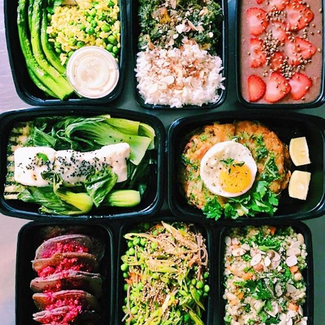 Wondering what's for dinner?  Hank and Bean offers weekly delivery, so you can #shopyourfridge and choose whatever you like, whenever you like.  The possibilities are endless. #bespoke #hankandbeandelivery #hankandbeanla #dtla #mealprep #prepacks #madefresh #healthyliving #wellness #alldietswelcome #tasty #happyhumpday