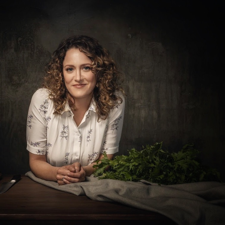 Chef Anna Rose Hopkins by Robyn Von Swank, 2018.