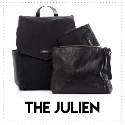 leader bag co the julien diaper bag
