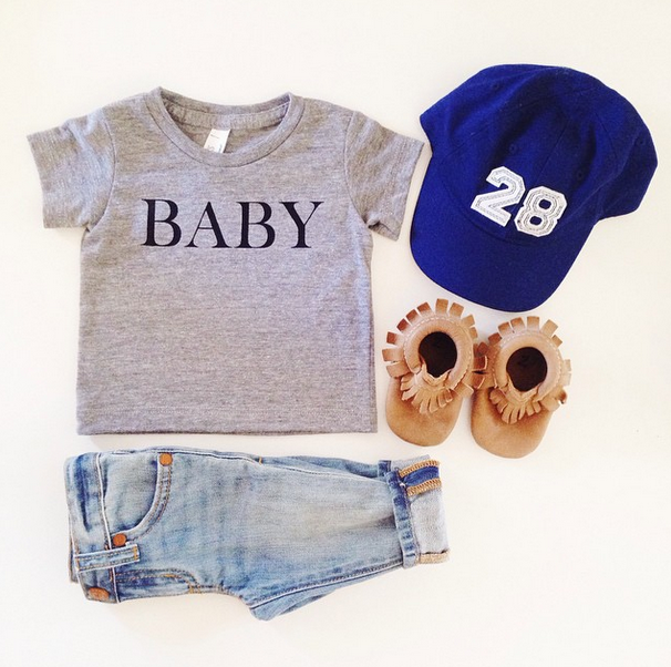 riley and co baby tee shirt