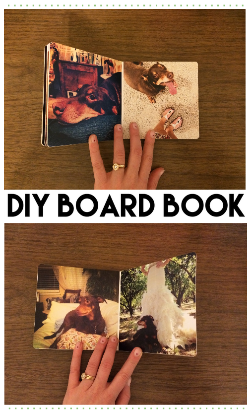 DIY baby book making la madre blog