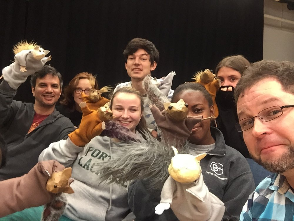 Colgate University's Children's Theater Workshop.