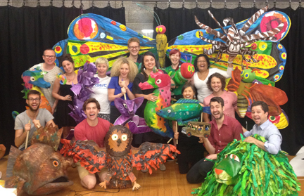 The Very Hungry Caterpillar Show Ensemble Training (Australian Cast)