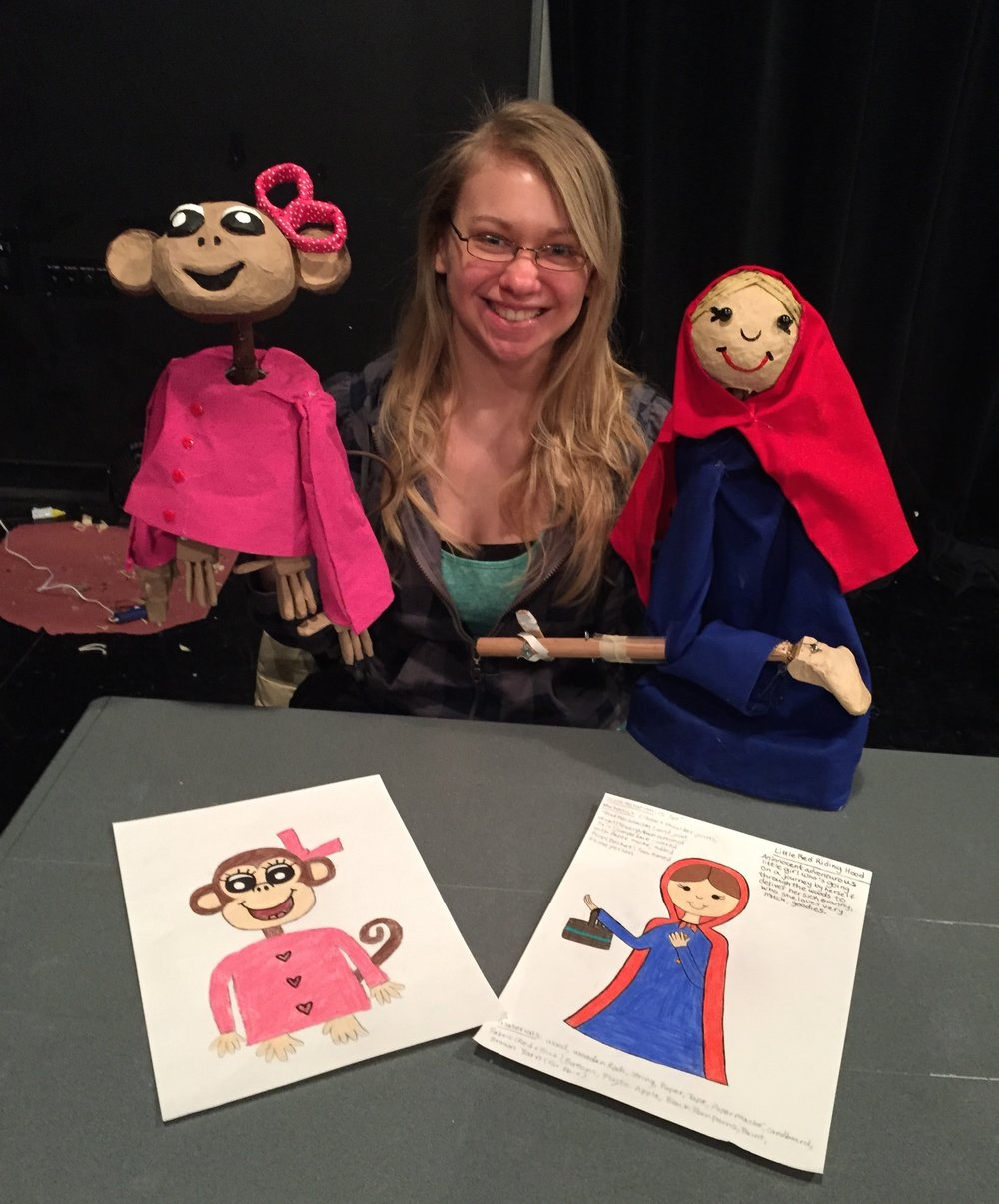 Cornell College: Intro to Puppet Making